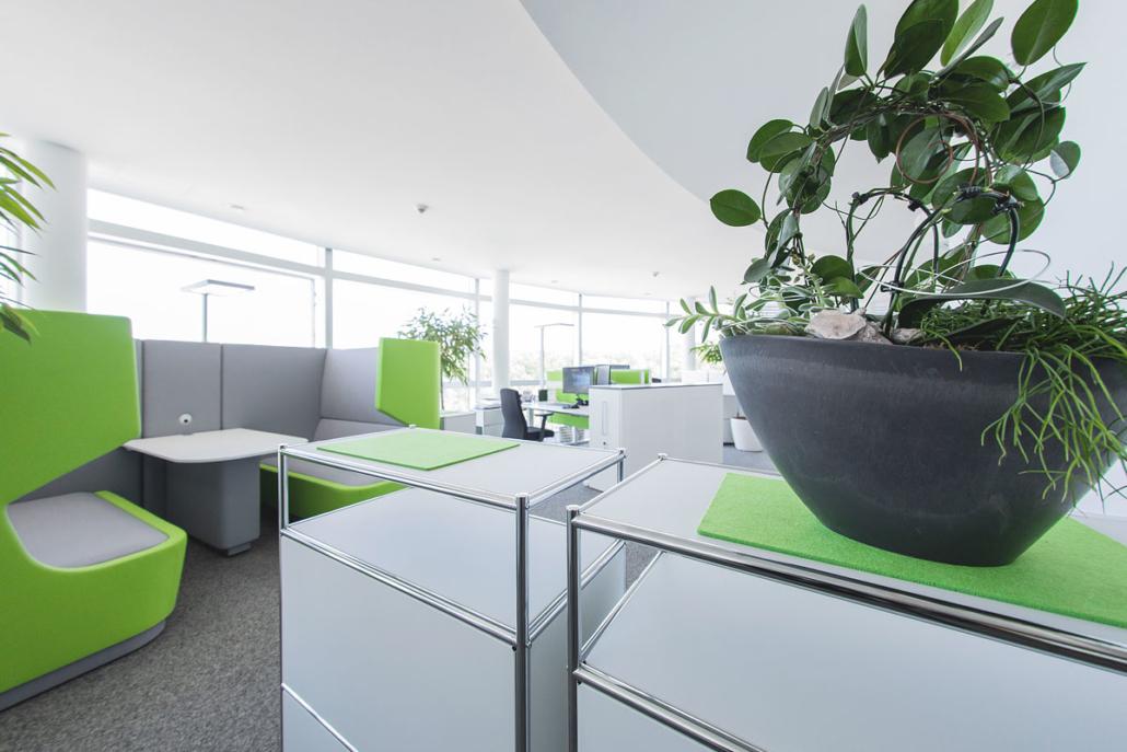 Modern. Lebendig. Ein angenehmes Ambiente. Sie werden sich in unseren Räumlichkeiten wohlfühlen.