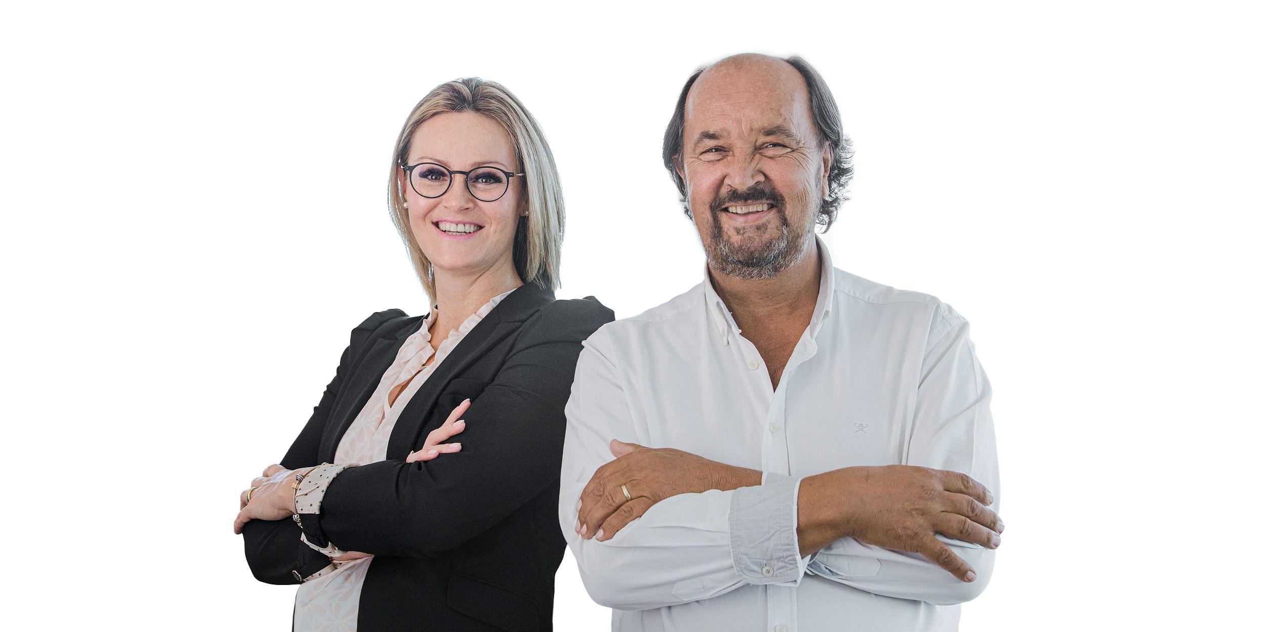 Partnerin und Steuerberaterin Frau Madeleine Gleichmann und Partner und Steuerberater Herr Partner / Steuerberater